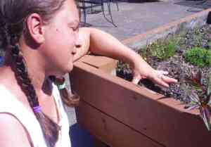 Outside gardening at Holly Residential Care Center | #HRCC #Holly Residential